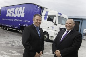 Delsol, Glendale Business Park Photographed are Co directors Simon Walker and Tony Parry .