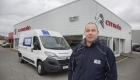 Pictured is Delsol transport Manager Mark Hughes.