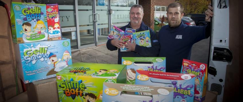 Bath-time fun for youngsters gets on the road with delivery firm Delsol