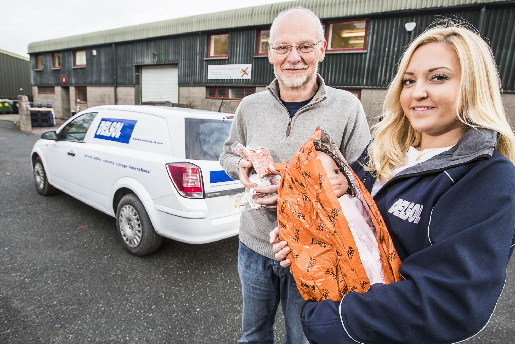 Emergency Help for New Born Babies is on the way thanks to Delivery Company Delsol