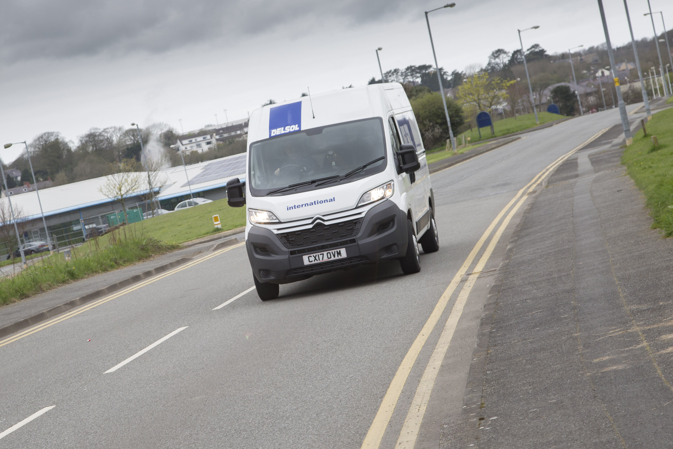Delivery company Delsol invests £300,000 in fleet of vans from Anglesey dealership