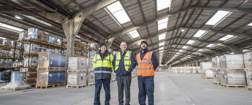 Massive warehouse helps Delsol deliver new services for customers