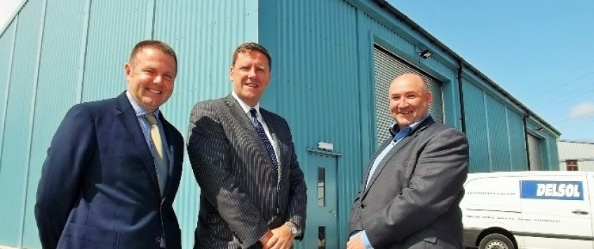 FURTHER INVESTMENT AT DELSOL DRIVES GROWTH